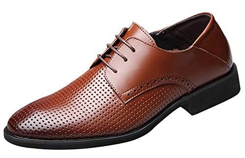 XUANXAI Chaussures à lacets pour hommes Sandales...
