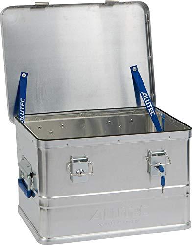 ALUTEC MÜNCHEN Transportkiste CLASSIC 30 - Aluminium Box 30 Liter mit Deckel und Zylinderschloss