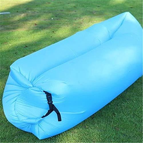 Ufblasbares Sofa Im Freien beweglichen aufblasbaren Sofa-Bett im Strand Schlafsack Einzel Faul Mittagspause Pad Aufblasbares Sofa für zu Hause (Farbe : E, Size : 200x70CM)
