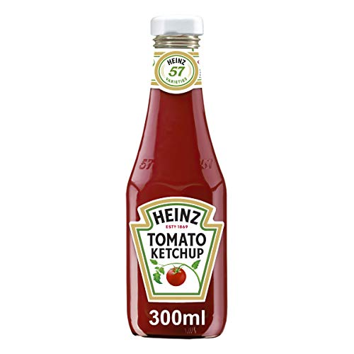 Heinz Tomato Ketchup, Glasflasche, 12er Pack (12 x 300 ml)