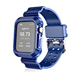 HANKN Band Case Compatible with Apple Watch Series