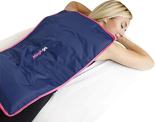 Extra Large Ice Pack for Back and Full Body Use as Cold Compress for Pain Relief Ice Blanket for Sleeping or Ice Pad for Physical Therapy by Magic Gel Reusable XL