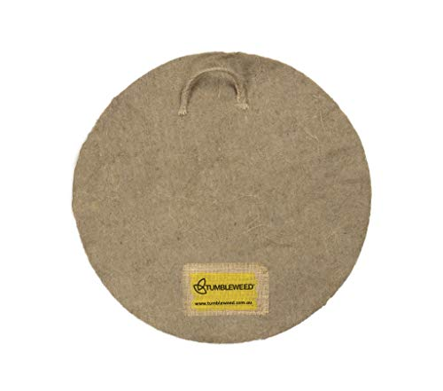 Best Bargain Tumbleweed Round Worm Blanket - Fits Can O Worms Worm Farm