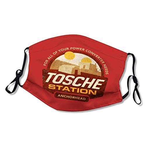 Tosche Station XL Face Mask Dust Mask Filter Pocket Face Coverings Layers Reusable & Washable (2 Filters)