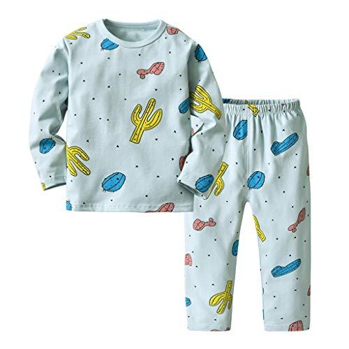 Vêtements pour Enfants, Mamum Ensembles de Bébé Garçon Fille Sweat Tops Haut + Pantalons (vert, 100(2-3Ans))