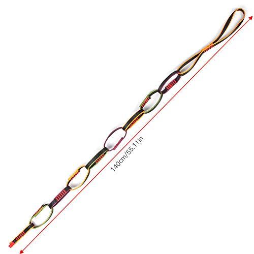 BOLORAMO Equipo de Escalada al Aire Libre Firme Alta robustez Durable Escalada al Aire Libre Cuesta Abajo Yoga aérea Cinturón de Escalera de Cuerda de crisantemo para Cuesta Abajo, exploración de