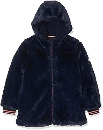 ESPRIT KIDS Mädchen Rp4210307 Outdoor Jacket Jacke, Blau (Navy 490), (Herstellergröße: 128+)