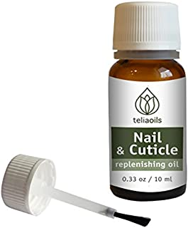 Nail and Cuticle Replenishing Oil, 10 Ml / 0.34oz - 100% Natural Aromatherapy