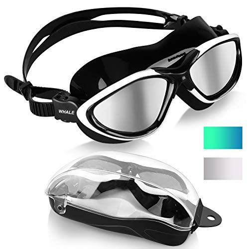 Swimming Goggles,Adult Swim Goggles Anti Fog No Leakage Clear Vision UV Protection...