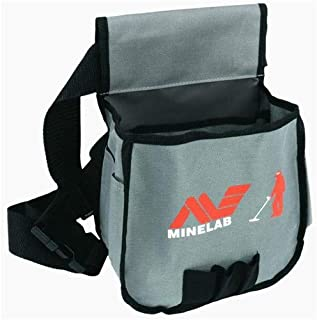 Minelab Metal Detector Finds Pouch, Black & Gray