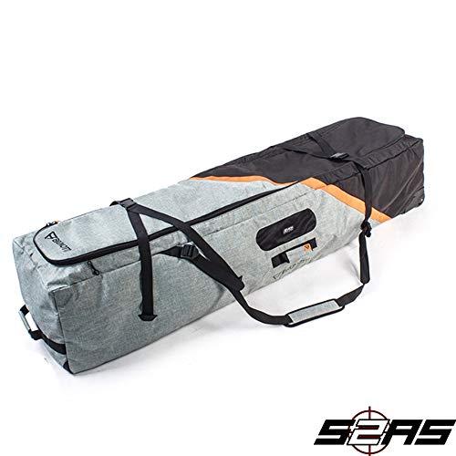 Brunotti X 1,65m Kite Wake-Trolley-Tasche für Kiteboard Granite, Grün
