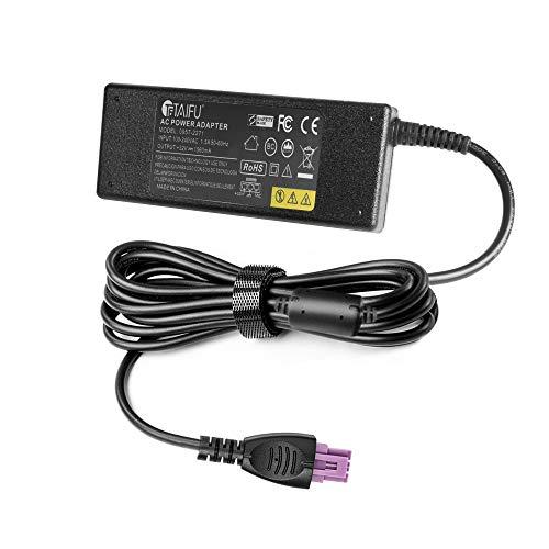 TAIFU Adaptador de corriente de 32V 1560MA para HP Officejet 6500 6500A Plus, HP OfficeJet 6000 7000 6800 J4580 J4680 7500a N6350 k309a, HP DeskJet 6520 6540Xi 6543 6840, HP PhotoSmart C8180 8750 C5180 HP PSC 5180 HP 0957 - 2271 0957-2105 0957-2259 0957-2230 0950-4476 adaptador de la energía del cargador de la impresora para HP B210, C309g , C310, C2780 impresora de 3 Pin con el cable de alimentación