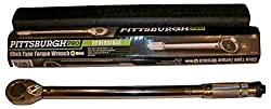 Pittsburgh Pro- A Professional Drive Click Stop Torque Wrench 239 Model