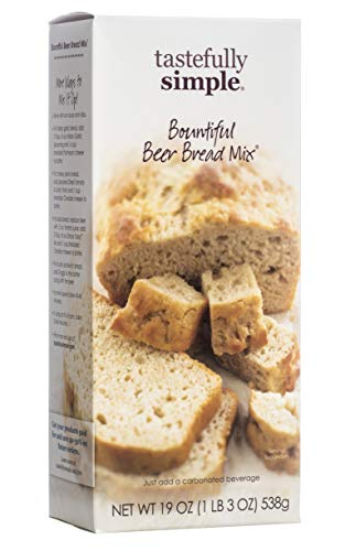 Mejor Tastefully Simple Bountiful Beer Bread Mix - Just Add Water! - 19 oz crítica 2020