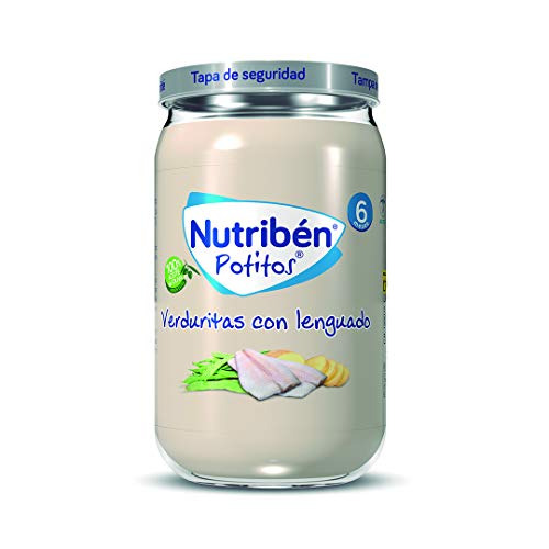 Nutribén Potitos de Verduritas con Lenguado Desde los 6 Meses 235 g