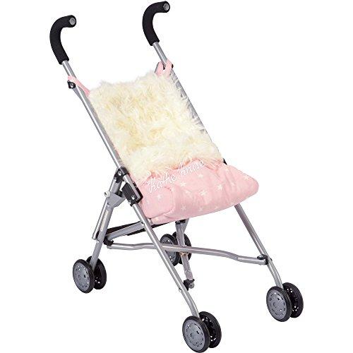 Käthe Kruse 79306 Buggy pink mit Fellsack
