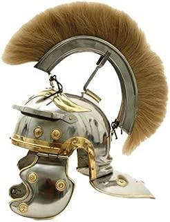 AnNafi Roman Centurion Helmet|Mens Wearable Warrior Spartan Helmets Medieval Costume| +Liner Reenactment