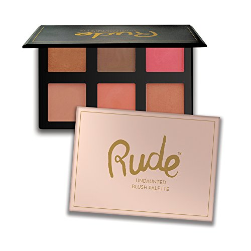 RUDE Undaunted Blush Palette
