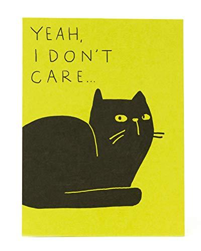 Grappige Cat Verjaardagskaart - Humour Verjaardagskaart - Verjaardagskaart voor haar - Verjaardagskaart voor haar - Sassy Cat Verjaardagskaart - Cadeaukaart voor haar - Verjaardagscadeau voor vriend