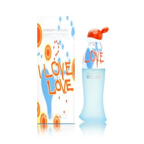 Moschino I Love Love Eau de Toilette Feminino 100 ml