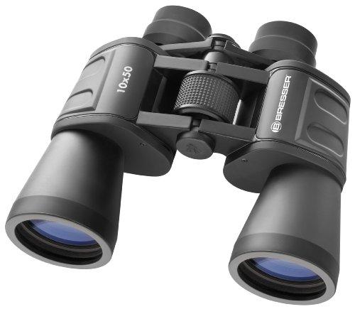 Bresser Hunter 10x50 Porro Fernglas (10x Vergrößerung, 25mm Objektivdurchmesser)