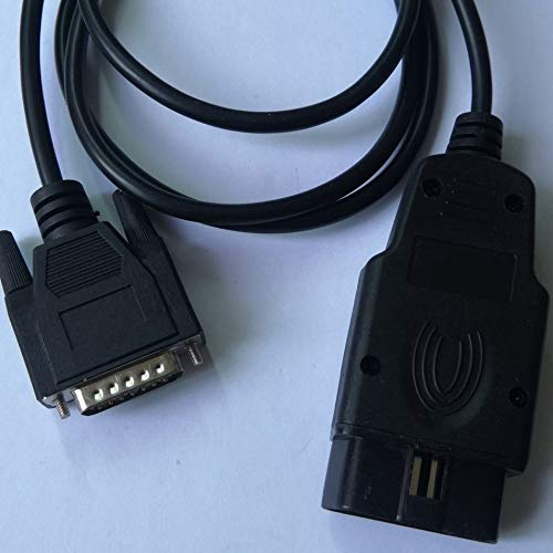 100cm 16Pin OBD OBD2 naar DB 15Pin verlengkabel adapterkabel