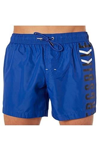 BIKKEMBERGS Boxer Mann Boxershorts Meer Pool Swimwear Beachwear Artikel B6G5054, 2020 Bluett, S