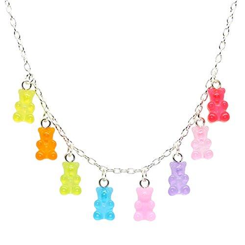 Bluebubble My Sweet Shop Jelly Rainbow Mini Gummy Bear...