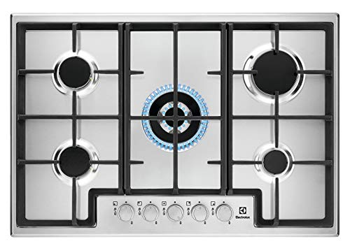 Electrolux EGS7536X Piano Cottura a Gas Slim line, 75 cm
