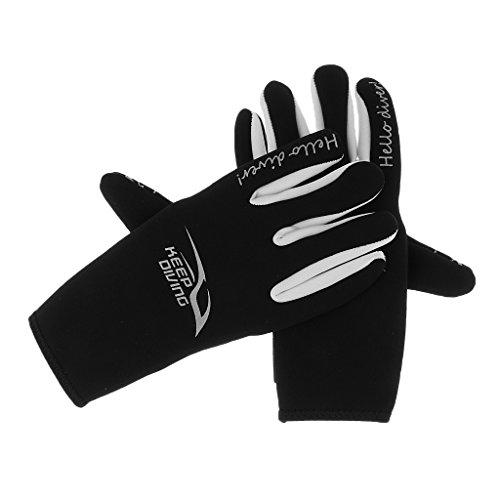 MagiDeal Neoprenhandschuhe Tauchen Schwimmen Surfen Handschuhe, Unisex Handschuhe 3mm Neopren