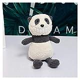 xiaofeng214 Sonrisa Dientes Grandes mueca Creativa personalizacin Juguete de Peluche, mueca (Color : Panda, Size : 25cm)