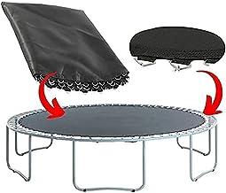 WSVULLD Bovenste bounce trampoline vervanging springmat past voor ronde frames met v-ringen UV-bestendig waterdicht (maat:...
