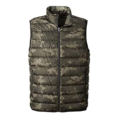 Eddie Bauer Men's CirrusLite Down Vest, Camo Regular L by Eddie Bauer