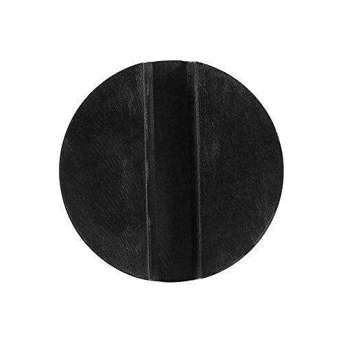 Nimoa Rubber Block Pad voor krik, anti-vibratiepads in cilindervorm # zwart