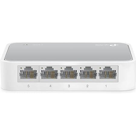 TP-Link TL-SF1005D Switch Ethernet 5 ports 10/100 Mbps - idéal pour étendre le réseau câblé pour les PME et les bureaux à domicile