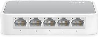 TP-LINK TL-SF1005D 5-Port 10/100 Mbps Unmanaged Desktop Switch - White