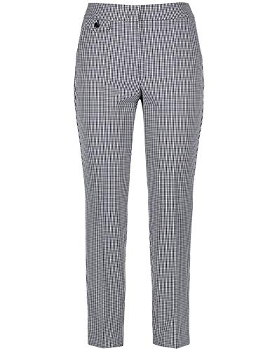 Gerry Weber 320013-38232 Pantaloni, Multicolore (Blu/Ecru/Bianco 8090), W(Herstellergröße: 46) Donna
