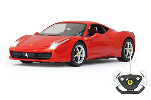 Jamara 404305 - RC Ferrari 458 Italia 1:14 inclusief afstandsbediening, rood
