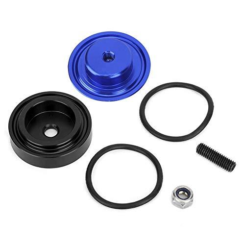 Scheibenwischer Abdeckung, Fahrzeug-Aluminiumlegierung Heckscheibenwischer-Lösch Stopfen-Abdeckung Satz-Zubehör(Blau)