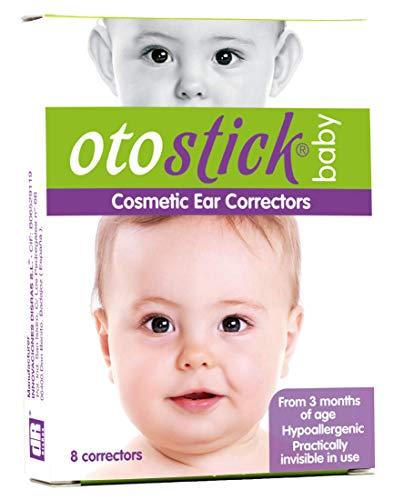 Otostick® Baby kosmetische korrekturteile für abstehende ohren (8 Korrektoren)).