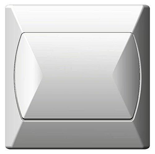 Grote eenvoudige interne schakelaar Basic klik wandplaat wit