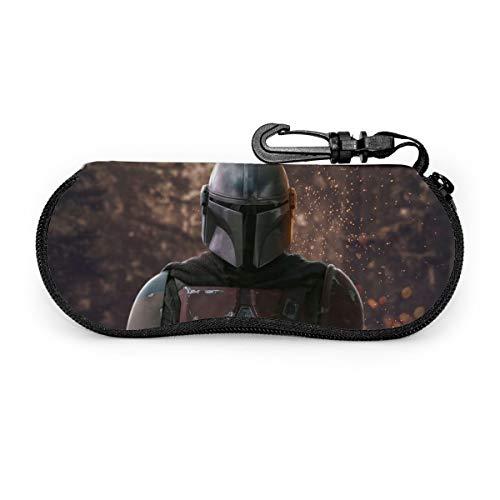 Star Wars - Funda para gafas de sol, portátil, con cremallera, para gafas de sol