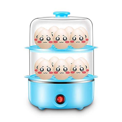 MILECN Cocina De Huevos, Cocedor De Huevos Duros con Capacidad para 14...