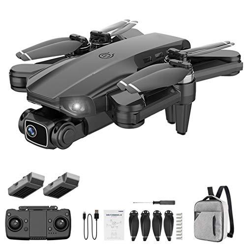 L900 PRO GPS 4K Professionale 5G WiFi FPV Drone Quadcopter Brushless 1.2km Nero 2 * Batterie, Zaino