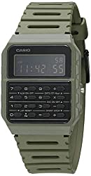 top rated Casio Databank Quartz Resin Watch, Green, 24.1 (Model: CA-53WF-3BCF) 2021