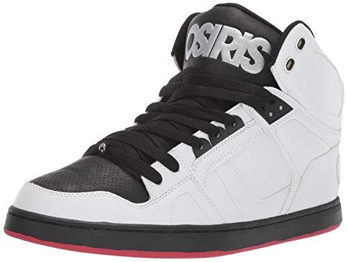 Osiris Men's NYC 83 CLK Skate Shoe, White/Red, 5.5 M US