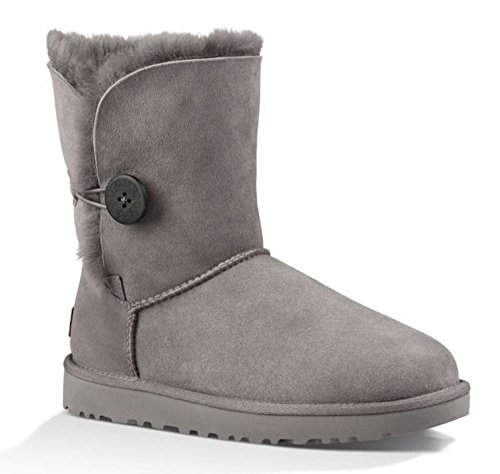 UGG Bailey Button Ii Damen Schneestiefel, Grau (GREY), 37 EU