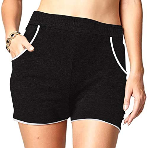 Fantastic Prices! Women's Fitness Short Pant,Ladies Summer Beach Elastic Waist Fashion Short Pants w...