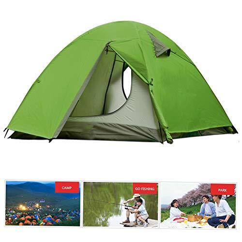 ACOMDSS Dubbele Laag Outdoor Camping Tent Regendichte Zonnescherm Strand Tent, Draagbare Strand Baby Luifel Pak voor Tuin, Vissen, Picknicken