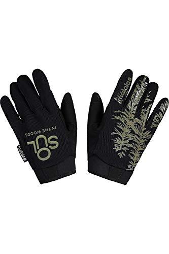 Maloja Fernm. Bike Handschuhe Schwarz, Fingerhandschuh, Größe M - Farbe Moonless